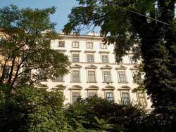 In diesem Haus auf der Mölkerbastei wohnte Ludwig van Beethofen